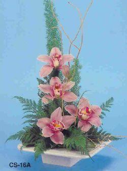Sivas çiçek gönderme sitemiz güvenlidir  vazoda 4 adet orkide