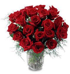 Sivas online çiçekçi , çiçek siparişi  11 adet kirmizi gül cam yada mika vazo içerisinde