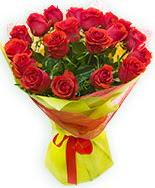 19 Adet kırmızı gül buketi  Sivas internetten çiçek satışı
