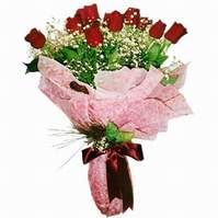 Sivas ucuz çiçek gönder  12 adet kirmizi kalite gül