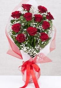 11 kırmızı gülden buket çiçeği  Sivas cicek , cicekci