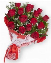 11 kırmızı gülden buket  Sivas çiçek servisi , çiçekçi adresleri