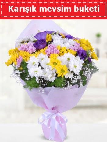 Karışık Kır Çiçeği Buketi  Sivas çiçek servisi , çiçekçi adresleri