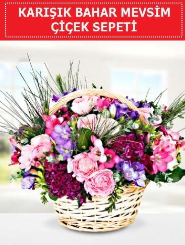 Karışık mevsim bahar çiçekleri  Sivas çiçekçi telefonları