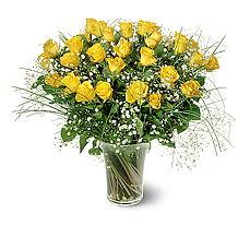 Sivas ucuz çiçek gönder  15 adet sarigül mika yada cam vazoda