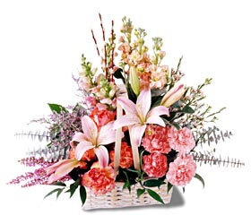Sivas ucuz çiçek gönder  mevsim çiçekleri sepeti özel tanzim