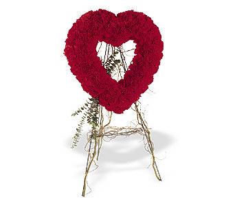 Sivas hediye çiçek yolla  karanfillerden kalp pano