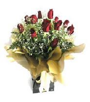 Sivas çiçek siparişi sitesi  11 adet kirmizi gül  buketi