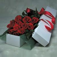 Sivas çiçekçiler  11 adet gülden kutu