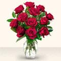 Sivas çiçek yolla , çiçek gönder , çiçekçi   10 adet gül cam yada mika vazo da