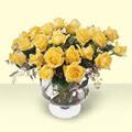 Sivas çiçek gönderme sitemiz güvenlidir  11 adet sari gül cam yada mika vazo içinde