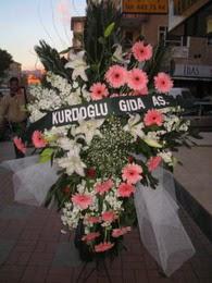 kazablanka,gerbera,sebboy ferforje  Sivas çiçek , çiçekçi , çiçekçilik