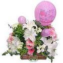 balon ve çiçeklerle tanzim  Sivas hediye çiçek yolla