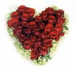 kalp biçiminde 15 gülden   Sivas çiçek servisi , çiçekçi adresleri