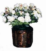 yapay karisik çiçek sepeti   Sivas internetten çiçek siparişi