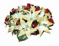 yapay karisik çiçek sepeti   Sivas çiçek siparişi sitesi