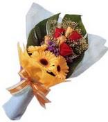 güller ve gerbera çiçekleri   Sivas online çiçekçi , çiçek siparişi