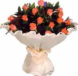 11 adet gonca gül buket   Sivas online çiçekçi , çiçek siparişi