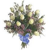 bir düzine beyaz gül buketi   Sivas online çiçekçi , çiçek siparişi