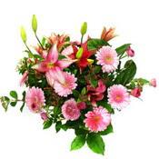 lilyum ve gerbera çiçekleri - çiçek seçimi -  Sivas İnternetten çiçek siparişi