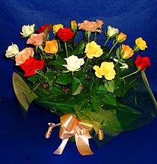 Sivas çiçek satışı  13 adet karisik renkli güller