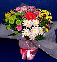 Sivas çiçek satışı  küçük karisik mevsim demeti