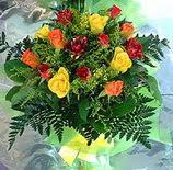 13 adet karisik gül buketi demeti   Sivas online çiçek gönderme sipariş