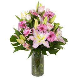 vazo içerisinde karisik mevsim çiçekleri  Sivas çiçek siparişi sitesi
