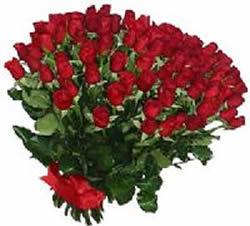 51 adet kirmizi gül buketi  Sivas çiçekçi mağazası