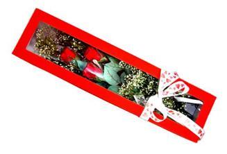 Sivas çiçek satışı  Kutuda 3 adet gül