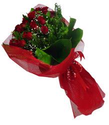 Sivas online çiçekçi , çiçek siparişi  10 adet kirmizi gül demeti