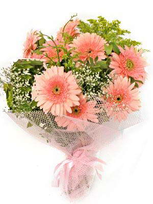 Sivas çiçek yolla  11 adet gerbera çiçegi buketi