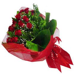 Sivas çiçek online çiçek siparişi  12 adet kirmizi essiz gül buketi - SEVENE ÖZEL