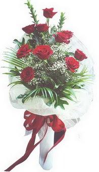 Sivas çiçek satışı  10 adet kirmizi gülden buket tanzimi özel anlara