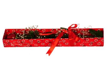 Sivas çiçek gönderme sitemiz güvenlidir  kutu içerisinde 1 adet kirmizi gül