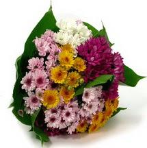 Sivas çiçek gönderme sitemiz güvenlidir  Karisik kir çiçekleri demeti herkeze