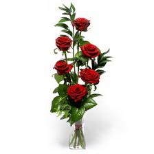 Sivas online çiçek gönderme sipariş  mika yada cam vazoda 6 adet essiz gül