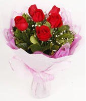 9 adet kaliteli görsel kirmizi gül  Sivas İnternetten çiçek siparişi