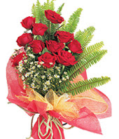 11 adet kaliteli görsel kirmizi gül  Sivas çiçek yolla