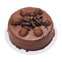 Kestaneli çikolatali yas pasta  Sivas çiçek gönderme