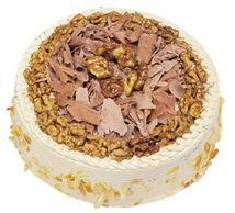 Karamelli 4 ile 6 kisilik yas pasta  Sivas çiçek yolla , çiçek gönder , çiçekçi
