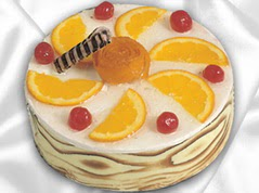 lezzetli pasta satisi 4 ile 6 kisilik yas pasta portakalli pasta  Sivas çiçek , çiçekçi , çiçekçilik