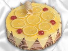 taze pastaci 4 ile 6 kisilik yas pasta limonlu yaspasta  Sivas çiçekçiler