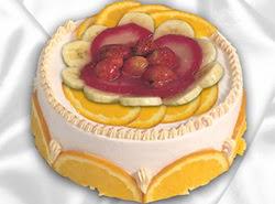 leziz pastane 4 ile 6 kisilik yas pasta meyvali yaspasta  Sivas çiçek online çiçek siparişi
