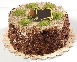 pasta gönderme 4 ile 6 kisilik çikolatali yas pasta  Sivas çiçek yolla
