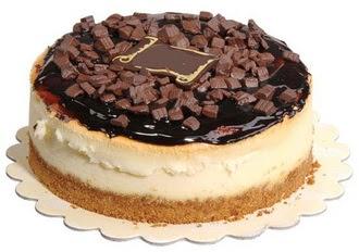 pasta yolla 4 ile 6 kisilik çikolatali yas pasta  Sivas çiçekçiler