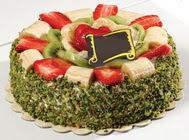 pasta gönder  4 ile 6 kisilik karisik meyvali yas pasta  Sivas çiçek siparişi sitesi