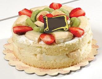 pasta siparisi 4 ile 6 kisilik karisik meyvali yas pasta  Sivas anneler günü çiçek yolla
