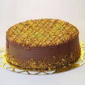 sanatsal pastaci 4 ile 6 kisilik krokan çikolatali yas pasta  Sivas internetten çiçek siparişi