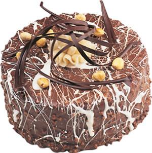 pasta satisi 4 ile 6 kisilik çikolatali yas pasta  Sivas yurtiçi ve yurtdışı çiçek siparişi